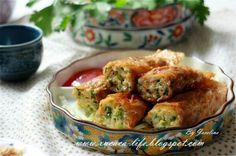 素食食譜~豆皮菜卷