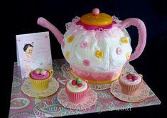 Thom S Crafts And Treats Tea Pot Diaper Cake Diy Diaper