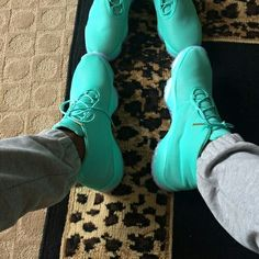 Mint green Jordan Futures @KortenStEiN