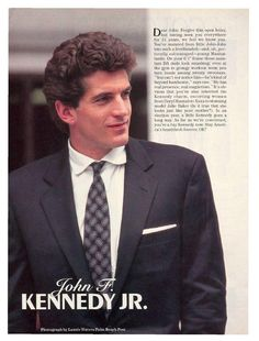John F Kennedy, Jr.