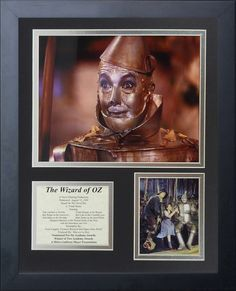 Wizard of Oz - Tin Man Framed Photo Collage