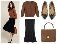 comfy yet polished business casual look #officefashion