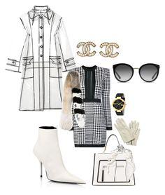 """Untitled #99"" by bobbieblush on Polyvore featuring Balenciaga, Fendi, Balmain, Miu Miu, Hermès, Dolce&Gabbana, Off-White, Loewe, Chanel and Gucci"