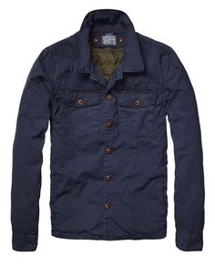 Shirt Jacket With Detachable Inner > Mens Clothing > Blazers at Scotch & Soda