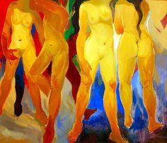 Abstract Expressionism | Abstract Expressionism of Khalil Ibrahim @ Arteri