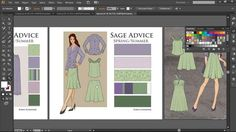 Learn techniques to quickly and accurately draw detailed technical flats for the fashion industry using Adobe Illustrator.