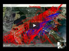 a collaboration w James White, a climate scientist at the University of Colorado, considers the catastrophic effects of climate change in three riparian zones: floods and hurricanes along the lower Mississippi; increasing water levels in the Ganges and rising seas in and around Bangladesh; and desertification along the Nile and throughout Darfur. Digital prints, based in part on images taken from satellite maps together with drawings and text by Rahmani, bespeak of the calamities…