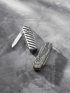 vintage design swiss army knives -- cool gift idea!