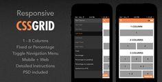 Responsive+HTML5+CSS+Grid