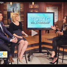 "We are social creatures who crave connection....the problem arises when that need turns into spending time with people who are dragging us down just because they are ""friends"". So, who do you need to let go of and how? Link from the segment on @twincitieslive website. So grateful for this amazing team - thank you for making it so fun and easy @elizries and @kstpsteve"