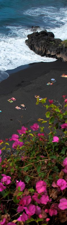 Some beaches inTenerife have black sands particularly in the North of the Island where there are some stunning beaches.
