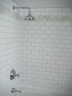 Subway Tile & Venatino Polished Marble | Flickr - Photo Sharing!