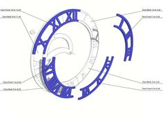 MakerBot Clock by makerbot.