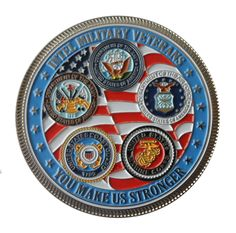 Intel Military Veterans coin