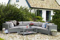Ninja: 3hörn+2mitt+1b 120x60 - Möbelgrupper & set | Brafab – Utemöbler, trädgård och balkongmöbler
