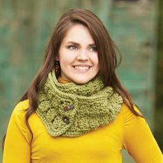 Herrschners® Changeable Cowl Crochet Yarn Kit, 8 colors! Crochet Yarn, Cowl, Kit, Colors, Fashion, Craft, Renovation, Scarfs, Thread Crochet