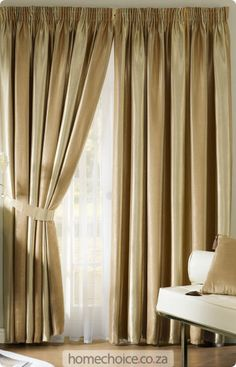 Decora Blockout Curtain Set Http://www.homechoice.co.za/