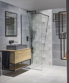 Chcete-li zachovat minimalistický styl pánské koupelny, opusťte myšlenku přebytku dekorací. Ikea Bathroom, Bathroom Ideas, Modern House Design, Sweet Home, Interior Design, Star Wars, Cabin, Future, Decoration