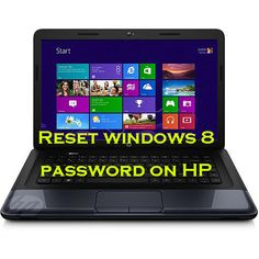reset password on hp laptop windows 8