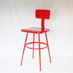 Vintage Industrial Drafting Stool Shop Stool by #AlegriaCollection #atsocialmedia