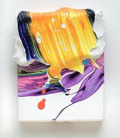 Yago Hortal-KL40. acrylic on canvas. 25x20 cm. 2011