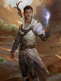Dragon Age Inquisition fantasy art - These ruins do not excite the dowsing spark; we should continue moving. Fantasy Kunst, Fantasy Male, Fantasy Rpg, Medieval Fantasy, Fantasy Artwork, High Fantasy, Dungeons And Dragons Characters, Dnd Characters, Fantasy Characters
