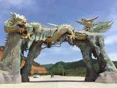 Dragon Cave, Dragon Fire Pit, Dragon Statue, Japanese Cat, Japanese Dragon, Chinese Dragon, Statues, Mythical Dragons, Sculptures