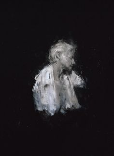 """anitaleocadia: """"Sophie Jodoin - Drawing Shadows; portraits of my mother (2004) """""""