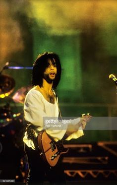 Prince performs on stage at Feyenoord Stadion De Kuip Rotterdam Netherlands on the Nude Tour June 1990 Purple Pages, Graffiti Bridge, Sign O' The Times, The Artist Prince, Photos Of Prince, Paisley Park, Roger Nelson, Prince Rogers Nelson, All Things Purple