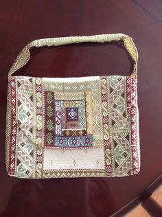 Beaded purse using Delica beads on a loom#Pin By:Pinterest++ for iPad#