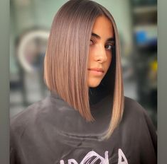 Straight Long Bob, Angled Bob Haircuts, Bob Cut, Bob Hairstyles, Short Hair Styles, Hair Cuts, Bobs, Beauty, Instagram