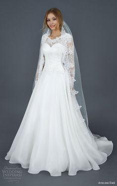 Atelier Eme 2016 Wedding Dresses | Wedding Inspirasi #coupon code nicesup123 gets 25% off at  www.Skinception.com