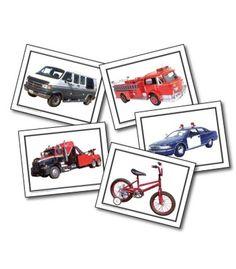 Transportation Learning Cards - Carson Dellosa Publishing Education Supplies