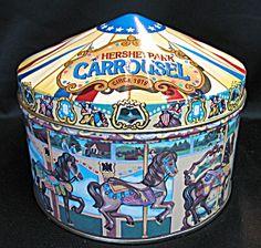 Hershey's Carousel Horse Tin