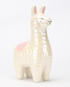 New Look Llama Moneybox Neutral Home Decor Online, Home Decor Shops, Pamper Hamper, Grey Gardens, Money Box, Online Gifts, Buy Shoes, Piggy Bank, Save Yourself