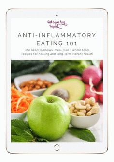 Anti-Inflammatory Eating 101 - Your Essential Guide by Angela Simpson, Eat Spin Run Repeat
