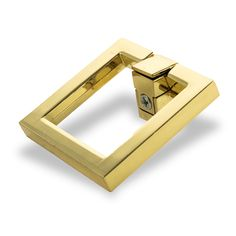 Brass Square Hardware, Small (Set of 2)$40