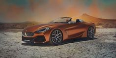 The BMW Concept bows at Monterey Car Week, giving us our first look at the brand's upcoming roadster and also the next Toyota Supra. Bmw Z4, Bmw Concept, Pickup Trucks, Bmw Roadster, Wallpapers Bmw, Nova Bmw, New Toyota Supra, Automobile, Subaru