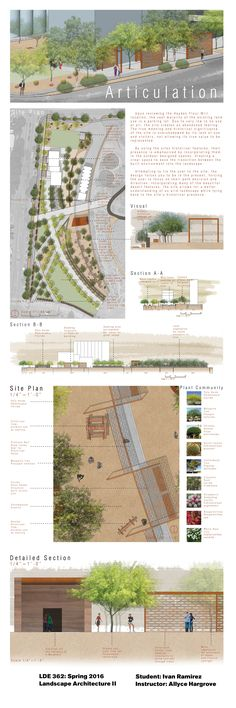 Learn more about the Landscape Architecture program at   - landscape architecture resume