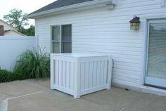 Air Conditioning, Hiding an outdoor air conditioner compressor