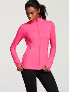Knockout by Victorias Secret Jacket in Hello Lovely- Victoria's Secret Sport - Victoria's Secret