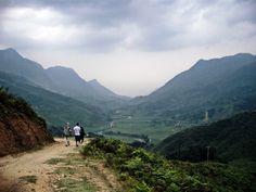 North Vietnam, Border to Guangxi, China