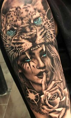 What's it about stomach tattoo designs which are just so damn sexy? Mainly people get tattoo designs to attract attention. Girl Arm Tattoos, Badass Tattoos, Forearm Tattoos, Body Art Tattoos, Hand Tattoos, Tattoos For Guys, Tatoos, Tiger Tattoo Sleeve, Best Sleeve Tattoos
