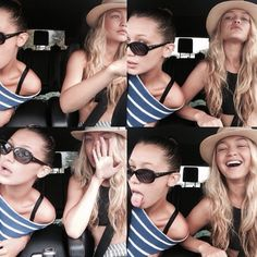 Gigi and Bella Hadid Lovely sisters