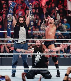 WWE Smackdown Tag Team Champions, the Wyatt Family!