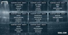 Champions League draw in full: - Goal.com