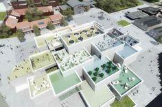 LEGO Building Experience Center in Denmark Using Giant Bricks