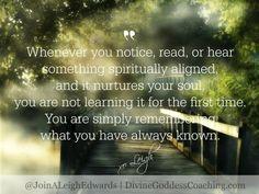 Click here for more Spiritual Alignment - www.divinegoddesscoaching.com