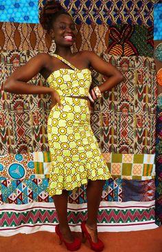 big print- My African closet
