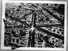 Rep: Berlin: Interbau; Hansaviertel; Luftaufnahme vor der Zerstörung